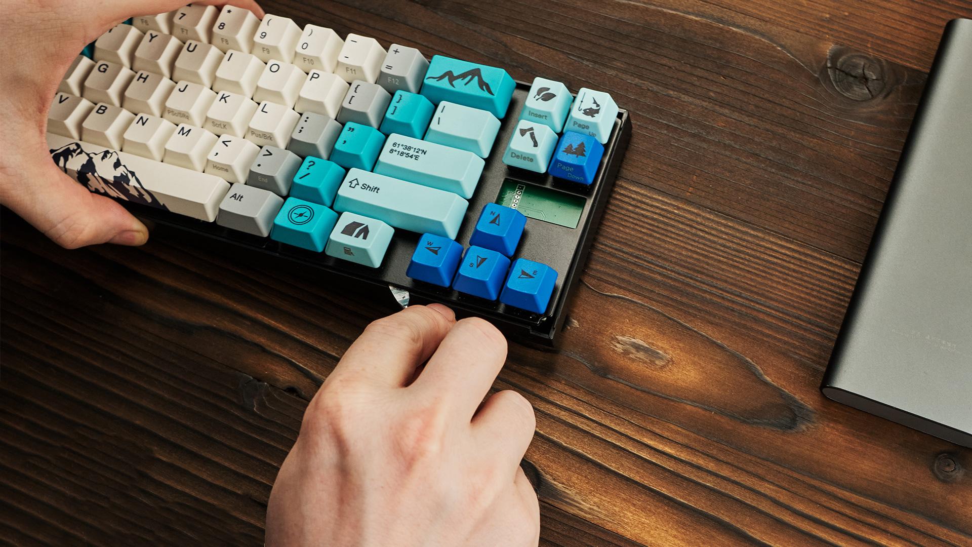 MIYA68-MAC - MIYA PRO SUMMIT - Вынимает клавиатуру из нижней частик корпуса
