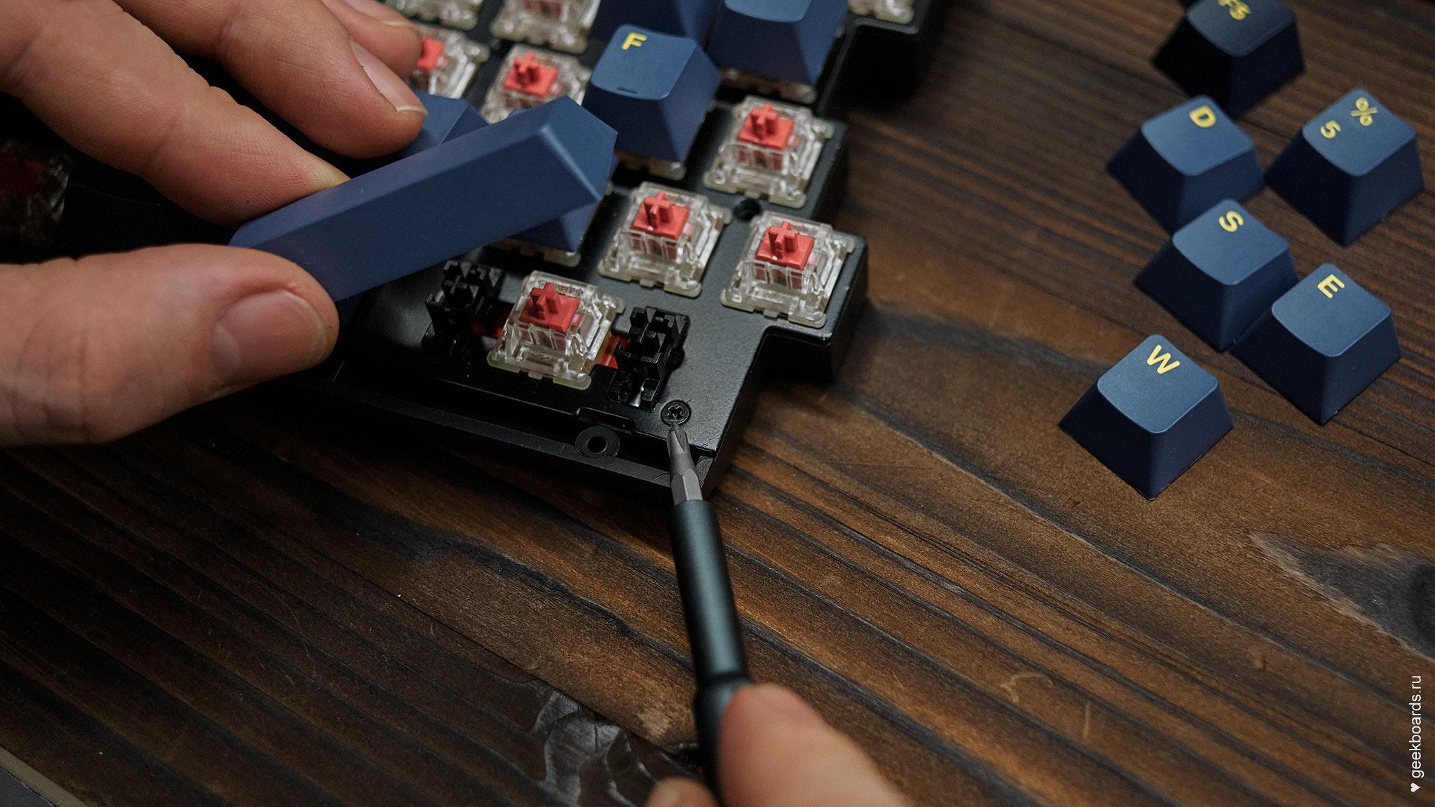 MISTEL BAROCCO MD770RGB BT BLACK расположение винтов